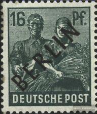 Berlin (West) 7 postfrisch 1948 Schwarzaufdruck