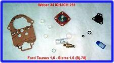 Weber 34 ICH,Vergaser Rep.Kit,Ford Taunus,Sierra,Bedford