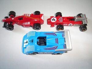FORMULA 1 FERRARI & GT MODEL RACE CARS SET 1:87 H0 - KINDER SURPRISE MINIATURES