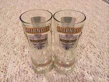 Smirnoff Vodka Glass Tumbler Set Of 2
