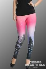 Leggings femme Galaxy  - Jegging Caleçon  Pantalon Slim - du 36 au 40