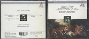 CD Joseph Haydn - Symphonies Nos. 31, 59 & 73 - Harnoncourt