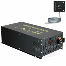 48V to 120V 8000W Pure Sine Wave Inverter Solar Wind Off Grid Home Remote Energy