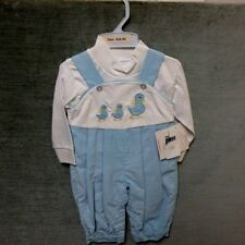 39c76d31c666 NWT Boy s 2 piece set Coverall   Long Sleeve mock turtle neck Shirt  size