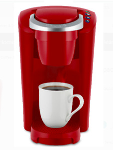Keurig Coffee Maker K-Compact Single Serve K-Cup Pod Brewing Machine Compact Red