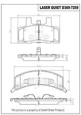 Disc Brake Pad Set-Rear Drum Front Pronto LMD369