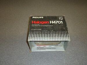 New Philips Halogen High Beam Headlight Headlamp H4701