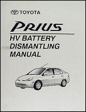 Toyota Prius Batería seguro Extracción manual 2001 2002 2003 desmontar libro