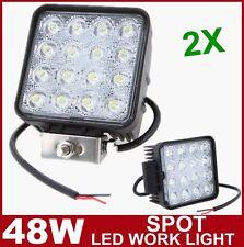 2x 48W LED Work Light spot offroad Lamp Tractor Truck boat ATV jeep 27W 18W 36W