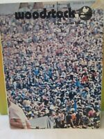 Woodstock: Songs And Photos Original 1970 Song Music Book- Warner Brothers !!!