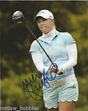 LPGA Morgan Pressel Autographed Signed 8x10 Photo COA C