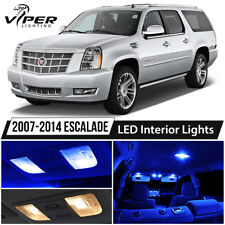 2007-2014 Cadillac Escalade Blue LED Interior Lights Package Kit