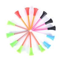 50x Multi Color Plastic Golf Tees 72mm Durable Rubber Cushion Top Golf Tee HDUVS