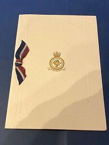 VINTAGE RAF ALDERGROVE  CHRISTMAS / GREETINGS CARD - UNUSED - VGC
