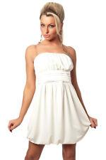 Vestido Sin Hombro Vestido Tubo Vestido De Cóctel Blanco