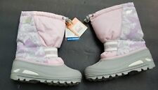 SOREL Boots Size 4 Youth Insulated Snow Winter Pink Cub Rated to -25 degrees