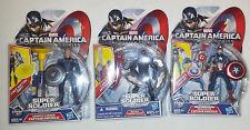 Captain America The Winter Soldier 3 Figure Set, Falcon, Captain America NEW