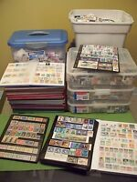 COLLECTION OF 100 WORLDWIDE STAMPS OFF PAPER FROM A COLLECTION OF OVER 1000000!