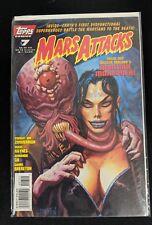 Mars Attacks 1995 2nd Series #7 Topps Comics May 1996 Comic Book FREE bag/board