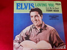 ELVIS PRESLEY~LOVING YOU~LET ME BE YOUR TEDDY BEAR~RCA~ POP 45