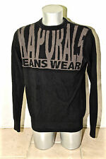 bel maglione di cotone in nero da uomo KAPORAL 5 modello martha lou taglia XL