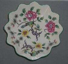 Old Foley James Kent Staffordshire England Asian Floral & Bird Dish