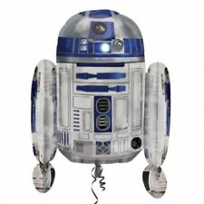 "New Star Wars  R2D2 Birthday Party Kids Celebration Giant Foil Balloon ""BIG"""
