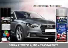 Bomboletta Spray RITOCCO VERNICE 400 ml + TRASPARENTE MAZDA 16W BLACK