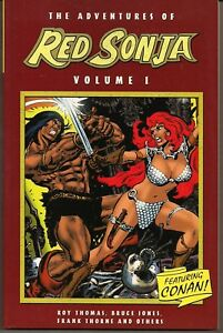 ADVENTURES OF RED SONJA VOL 1 DE CONAN AP COLLECTS 1970s MARVEL FEATURE #1-7 NEW