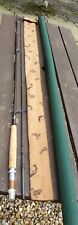 """A SUPERB ORVIS RIVERMASTER FLY ROD 9'6"""" #8 LINES LITTLE USED CONDITION BAG TUBE"""
