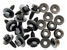 Mazda Body Bolts & Flange Nuts- M8-1.25mm x 25mm Long- 13mm Hex- 20 pcs- #129