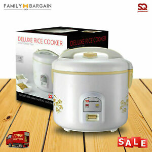SQ Electric Rice Cooker Steamer Pressure Food Warmer Cooking Pot Non Stick