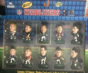 1996 Corinthian NFL Headliners Hall of Fame Quarterback 10 Football Player Pack
