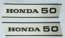 HONDA SS50 SS 50 SIDE PANEL DECALS X 2