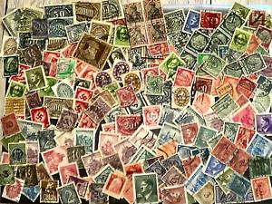 gr.Lot Briefmarken Deutsches Reich-/Reichspost viele gestemp.Marken von >A bis Z
