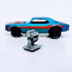 1 pc. Honda V-Tec 1:64 scale engine 3D printed resin for Hot Wheels/Matchbox