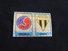ANGERS ABBEVILLE  ECUSSON Image sticker N° 396 FOOTBALL 86 PANINI 1986 BRILLANT