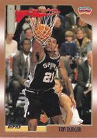 1998 TOPPS BASKETBALL CARD #49 - HOF TIM DUNCAN - SAN ANTONIO SPURS