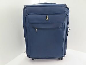 """Delsey Luggage - 25"""" Expandable Spinner - Blue"""
