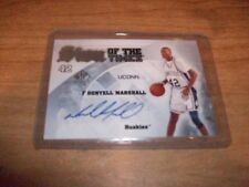 2013-14 Upper Deck Sign of The Times Donyell Marshall Auto Card UCONN Huskies