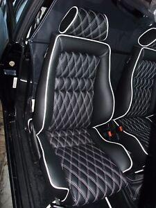 VW Golf 1 Cabrio Lederausstattung Alles möglich ! Individuell oder Original