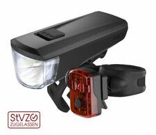 Kellys Fahrradlampe Noble Set STVZO Beleuchtung Vorne Hinten Mirco USB