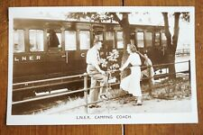 More details for 1956 lner camping coach railway postcard