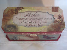 Cottage Garden Jewelry Music Box Mother