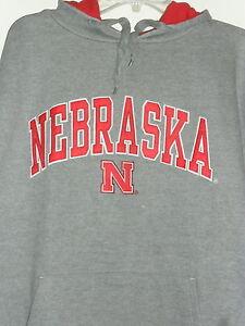 Nebraska Cornhuskers Hooded Sweatshirt Mens Hoodie Team Colors