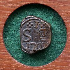 Dutch East Indies, Netherlands / Ceylon. 1 Stuiver, 1792. VOC. Trincomalee Mint.