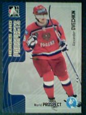 ALEXANDER OVECHKIN - MOSCOW DYNAMO   05/06 AUTHENTIC WORLD PROSPECT CARD