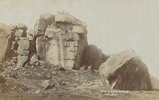 RPPC,Ilkley,U.K.Cow & Calf Rocks,Ilkley Moor,West Yorkshire,Used,Ilkley,1909