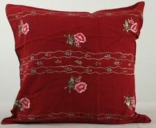 """Embroidered Square Decorative Cushions & Pillows 20x20"""" Size"""