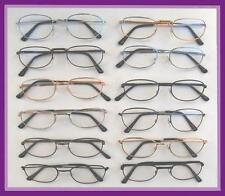 Reading Glasses 12 Pair Metal Frame +3.00 Wholesale Reader 3.00